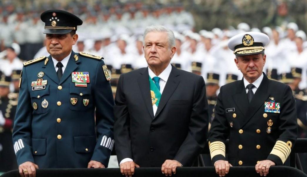 Foto: El presidente Andrés Manuel López Obrador encabezó su primer Desfile Militar por aniversario de la Independencia de México, el 16 de septiembre de 2019 (Reuters)