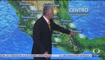 Despierta con Tiempo: Lluvias en el centro del país