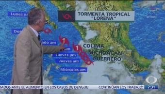 Despierta con Tiempo: Lorena afecta las costas del Pacífico