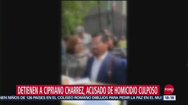 FOTO: Detienen Exdiputado Cipriano Charrez Acusado Homicidio Culposo