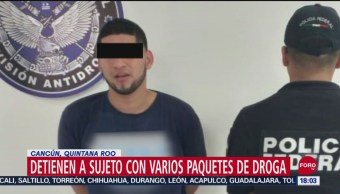 FOTO: Detienen Pasajero Con Cocaína Cuerpo Aeropuerto Cancún