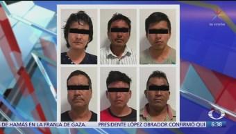 Detienen a seis personas por actos vandálicos en Escuintla, Chiapas