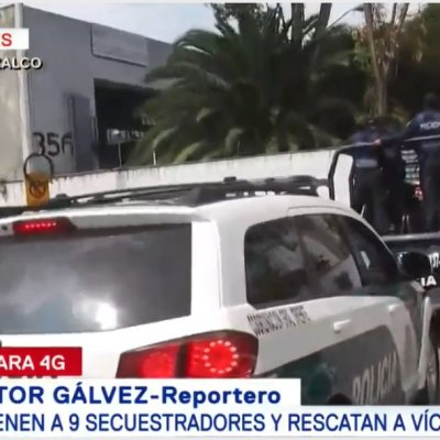Detienen a nueve presuntos secuestradores y rescatan a tres víctimas en Tláhuac