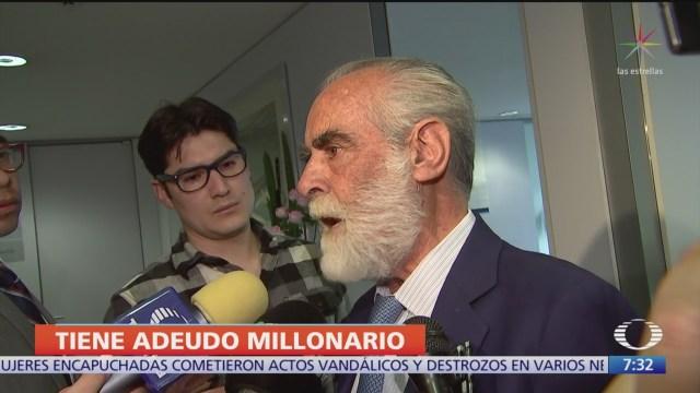 FOTO: Diego Fernández De Cevallos Dice Que Negocia Deuda Predial,
