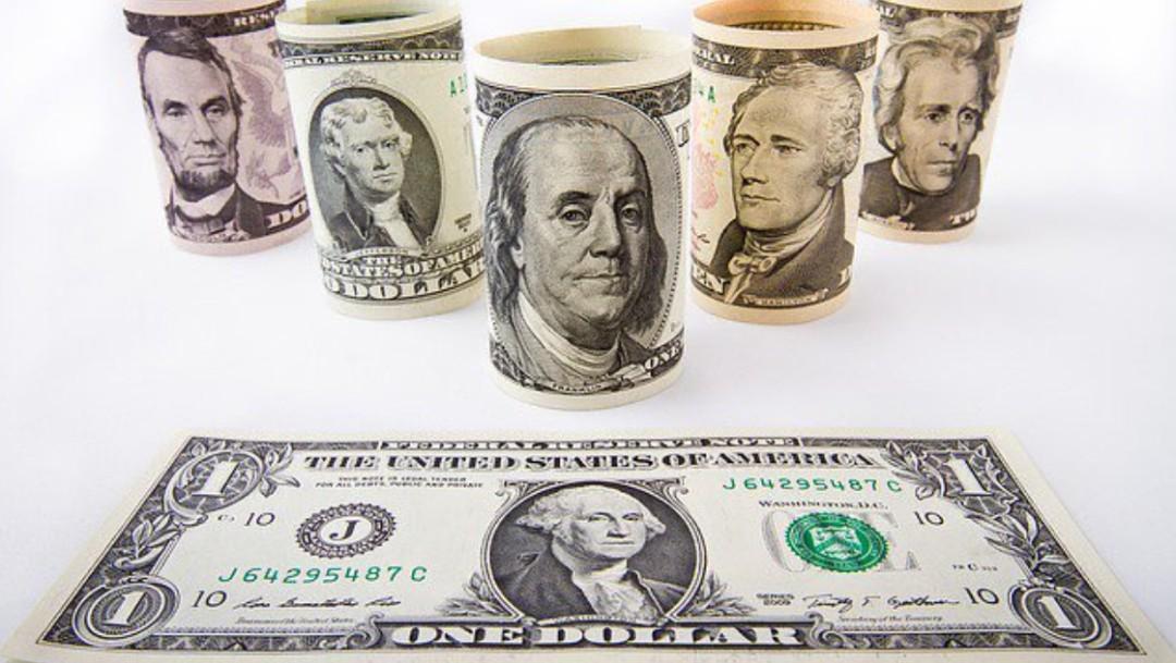 Foto: Dólares, 3 de septiembre de 2019, Ciudad de México