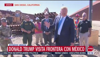 FOTO: Video Donald Trump Visita Frontera Con México
