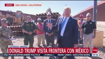 FOTO: Video Donald Trump Visita Frontera Con México