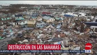 Foto: Huracan Dorian Damnificados Las Bahamas 6 Septiembre 2019