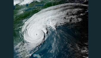 Foto: Mapa satelital huracán Dorian, 6 de septiembre de 2019, Estados Unidos