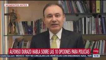 FOTO:Durazo ofrece disculpas por bloqueo de policías federales en el AICM, 13 SEPTIEMBRE 2019