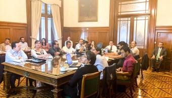Foto: Arturo Herrera y su equipo trabajan en el Paquete Económico 2020, 4 de septiembre de 2019 (Twitter @ArturoHerrera_G)