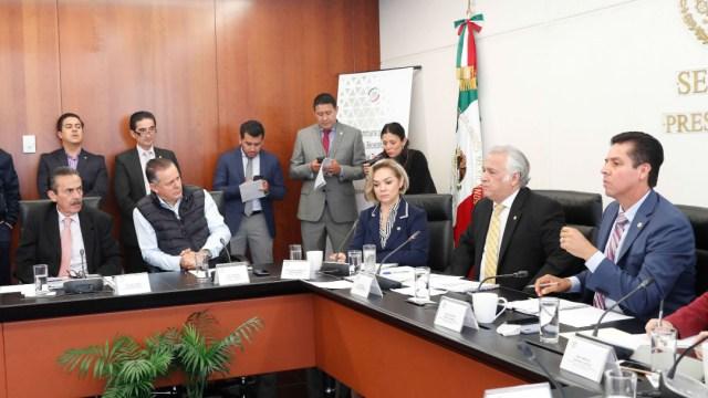 Foto: Torruco en la reunión con senadores, 4 de septiembre de 2019 (Twitter @senadomexicano)