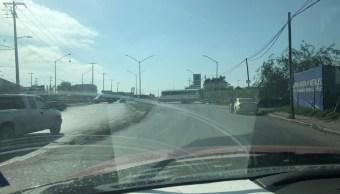 Foto Elementos de las corporaciones federales y estatales realizaron recorridos y despliegue sobre la carretera San Fernando a Reynosa, 14 de septiembre de 2019 (Twitter @sethrojasmolina)