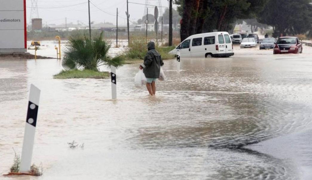 Foto La lluvia ha causado serios estragos en Valencia, 12 de septiembre de 2019 (Twitter @LaNochedeCOPE)