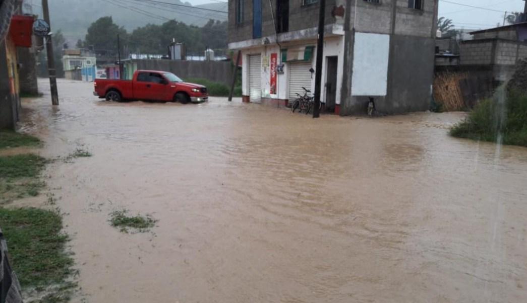 Foto: Afectaciones por lluvias dejan un muerto en Oaxaca, 29 de septiembre de 2019 (Twitter @LaZNoticiasOax)