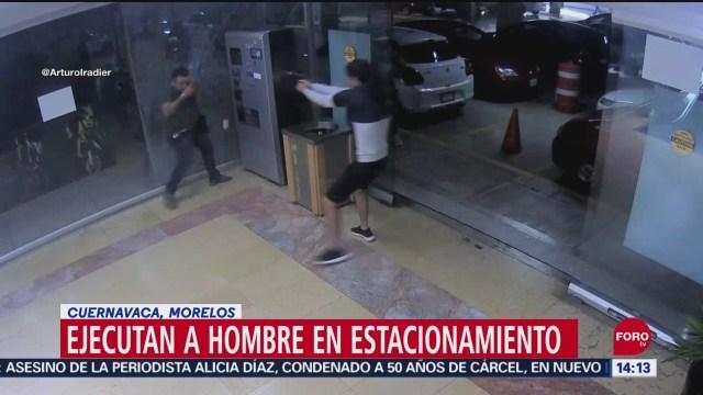 FOTO:Ejecutan a hombre en plaza comercial de Cuernavaca, 27 septiembre 2019