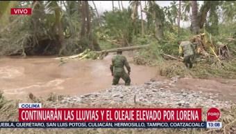 FOTO: Ejército Mexicano Trabaja Para Comunicar Poblados Aislados Colima