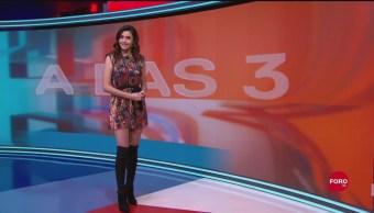 FOTO: Clima A Las Tres Con Daniela Álvarez 17 Septiembre 2019