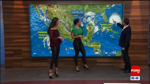 El clima en Expreso del 2 de septiembre del 2019