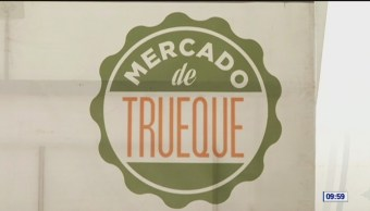 El mercado de trueque en la Ciudad de México