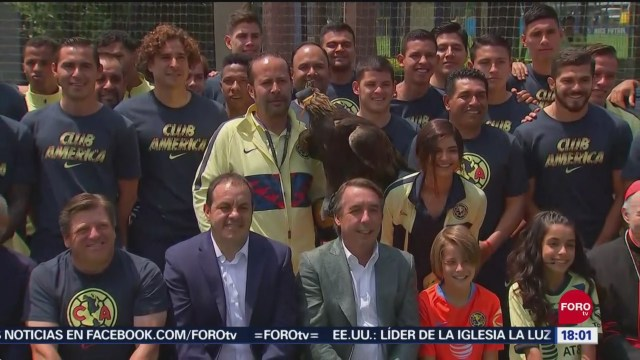 FOTO: Emilio Azcárraga Jean presenta la Alianza para la Conservación del Águila Real, 27 septiembre 2019