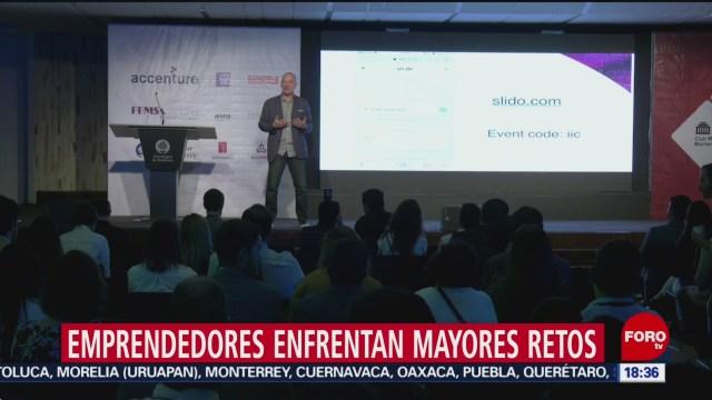 FOTO: Emprendedores enfrentan más retos México que otros países