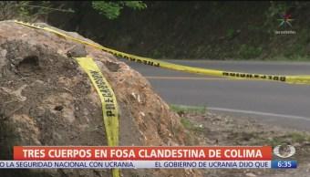 FOTO: Minatitlán Colima Encontraron Otra Fosa Clandestina