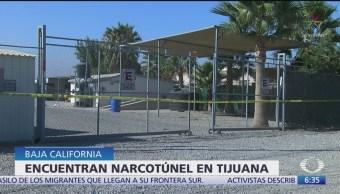 Encuentran narcotúnel en Tijuana