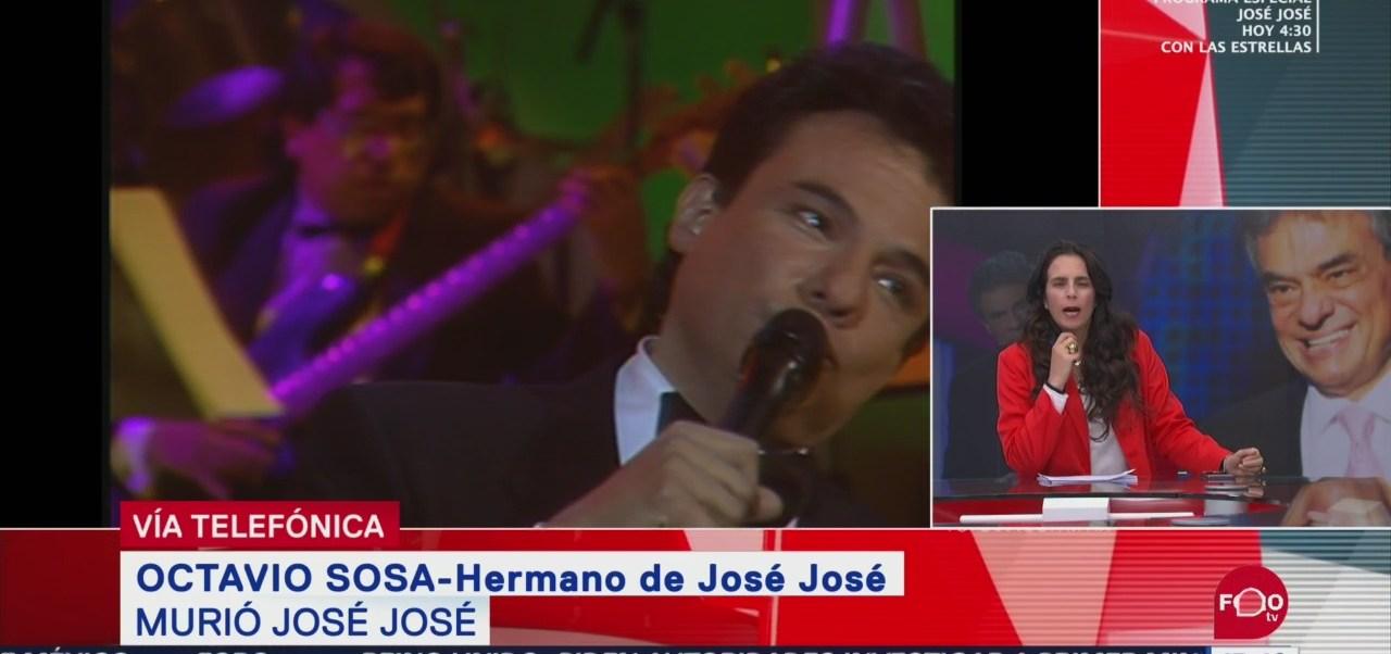 FOTO: Entrevista con Octavio Sosa, hermano de José José, 28 septiembre 2019