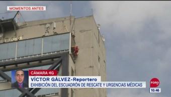 ERUM realiza simulacro de rescate en la CDMX