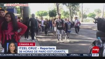 FOTO: Oficial Paro 36 Horas CCH Azcapotzalco