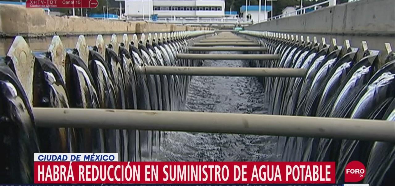 Foto: Reducción Suministro Agua Cdmx Jueves 11 Septiembre 2019