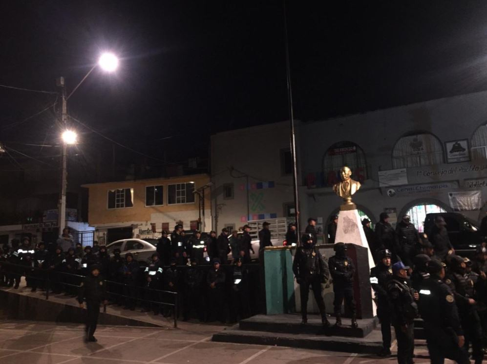 Foto Evitan linchamiento de presunto ladrón en San Pablo Chimalpa 4 septiembre 2019