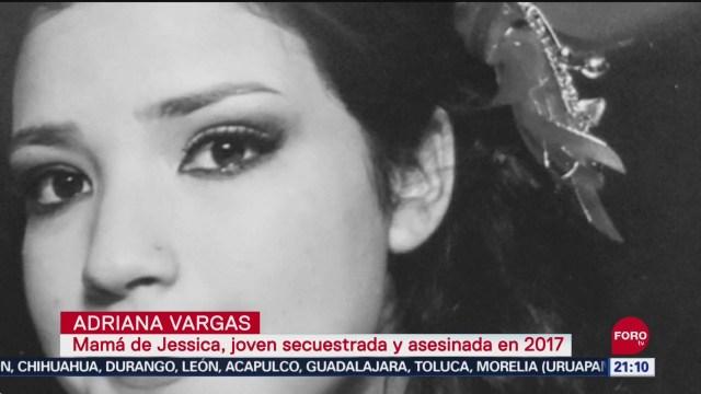 FOTO: Exigen justicia por asesinato de la joven Jessica, 13 SEPTIEMBRE 2019