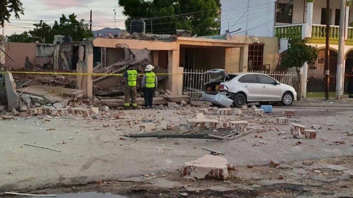 Explosión en vivienda de Hermosillo