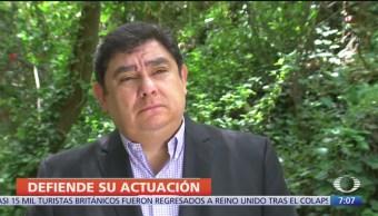 Exprocurador de Guerrero niega fabricación de culpables en caso Ayotzinapa