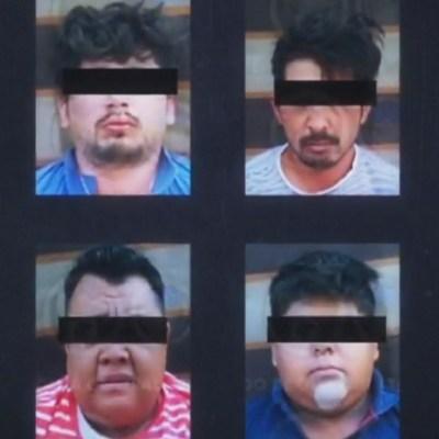 Caen ocho integrantes del Cártel de Santa Rosa de Lima, extorsionadores de tortillerías en Celaya