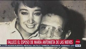 FOTO:Fallece esposo de 'La Chilindrina', 15 Septiembre 2019