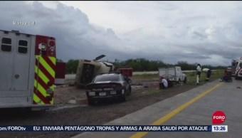 Fallecen 6 tras accidente de autobús en Guaymas, Sonora