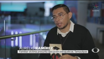 Foto: Familiares Víctimas Nuevo Laredo Exigen Seguimiento Fgr 18 Septiembre 2019