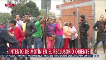 Familiares se concentran afuera de Reclusorio Oriente CDMX tras intento de motín