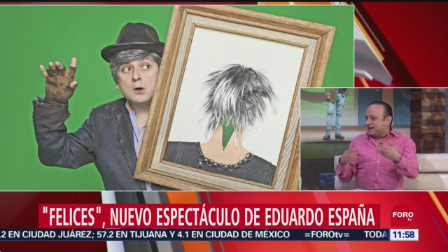 FOTO: Felices', nuevo espectáculo de Eduardo España, 30 septiembre 2019