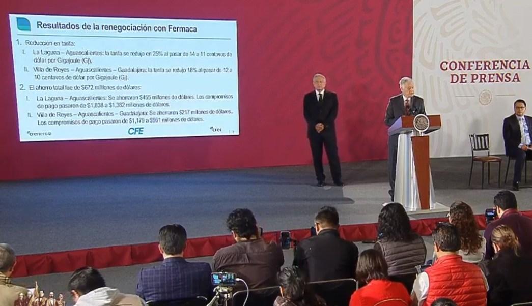 Foto: Manuel Bartlett anuncia acuerdo con Fermaca, 11 de septiembre de 2019, Ciudad de México