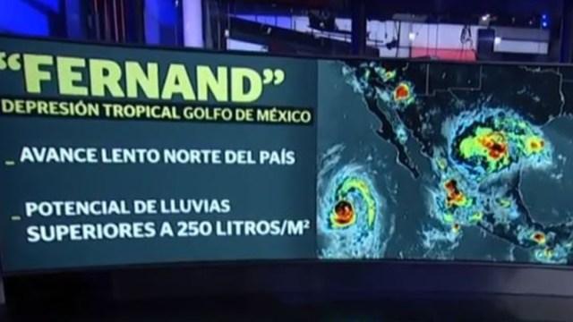'Fernand' se degrada a depresión tropical