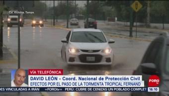 FOTO: Fernand Degrada Depresión Tropical