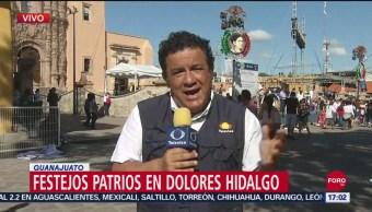 FOTO: Festejos del Día de la Independencia en Dolores Hidalgo, 15 Septiembre 2019