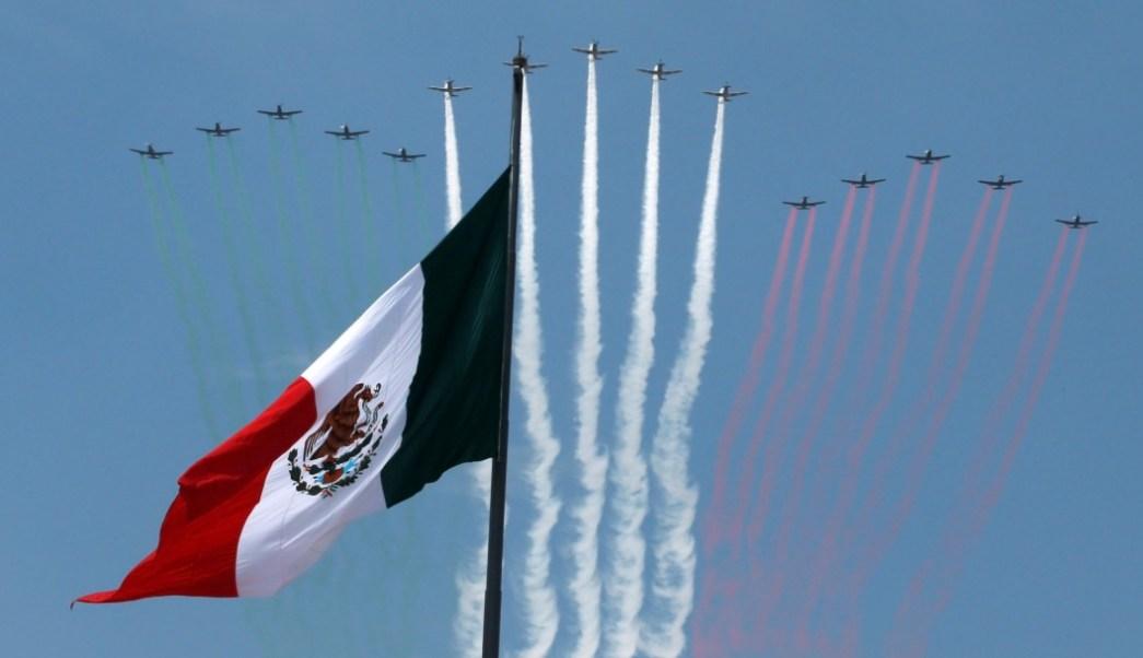 Foto: Festejos de Independencia, 16 de septiembre de 2017, México