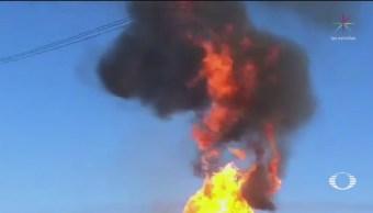 FOTO: Flamazo por fuga de gas en Puebla deja seis lesionados, 16 septiembre 2019