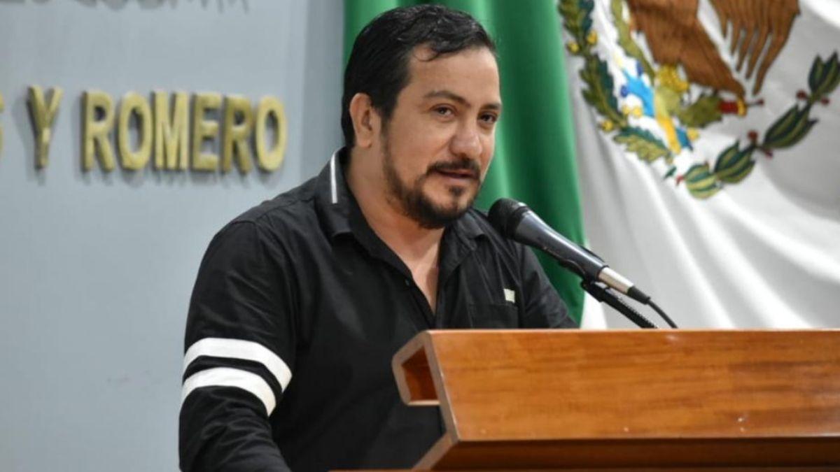 Foto: Charlie Valentino León Flores, diputado de Morena en Villahermosa, Tabasco. Twitter/@MorenaTabasco
