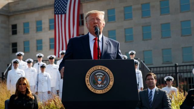 Foto: Donald Trump, presidente de Estados Unidos. AP